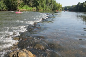 The Etowah River  would be impacted by a new reservoir on Richland Creek, a tributary of the river in Bartow County.